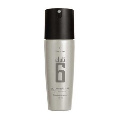 Club 6 Desodorante Spray Masculino 100ml