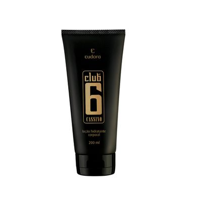 Hidratante Corporal Club 6 Cassino 200ml