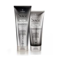 Kit Siàge Nutri Diamond: Shampoo + Condicionador
