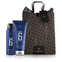 Kit Presente De Natal Club 6 Vip: Shower Gel + Desodorante Aerossol